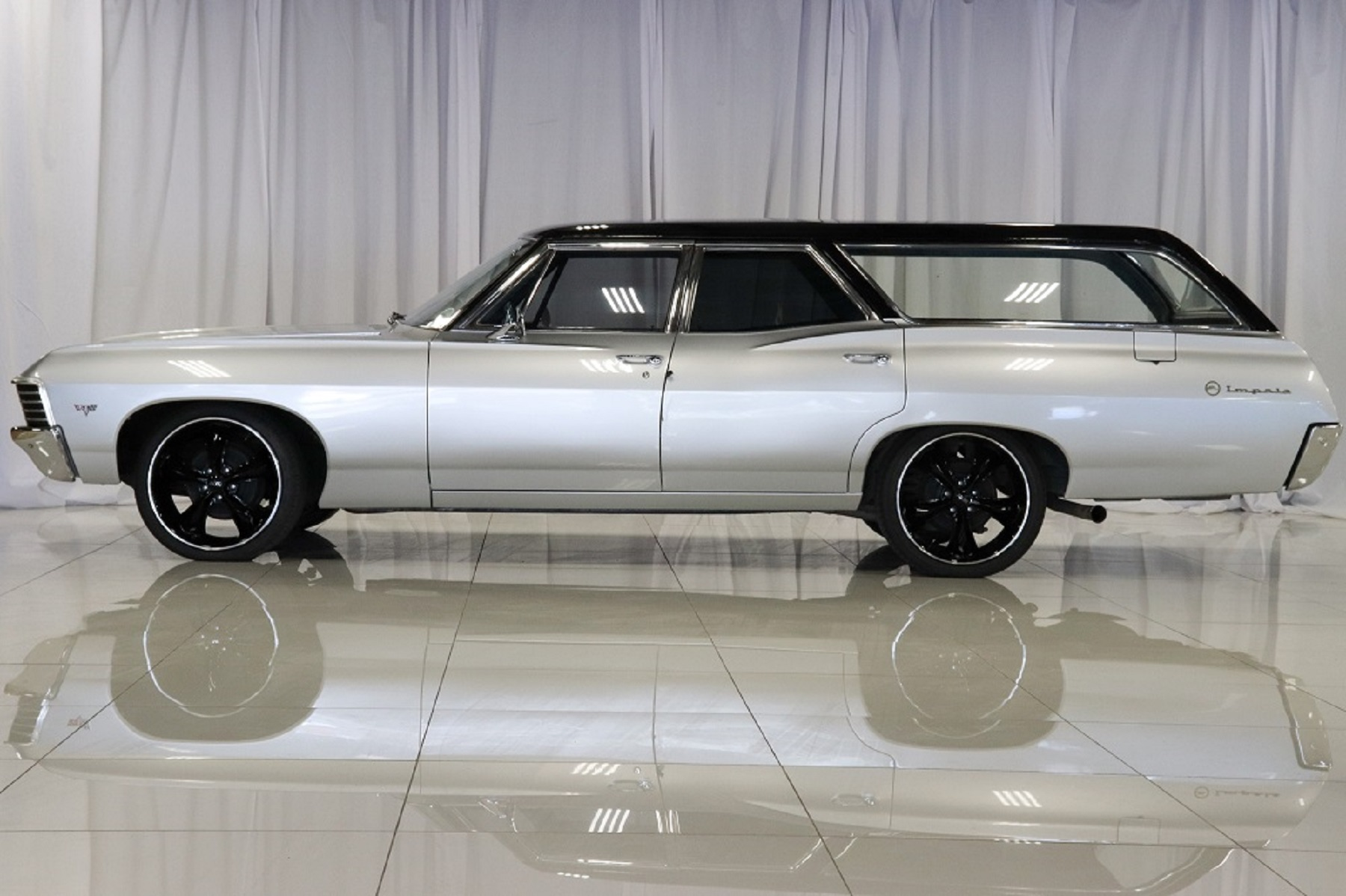 1968 Chevrolet Impala Station Wagon Creative Rides Custom Coupe Sold