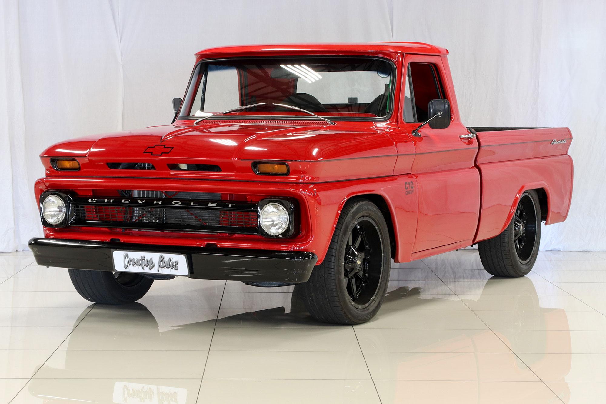 Niche Wheels Mustang >> 1966 Chevrolet C10 Fleetside Custom Pickup   Creative Rides