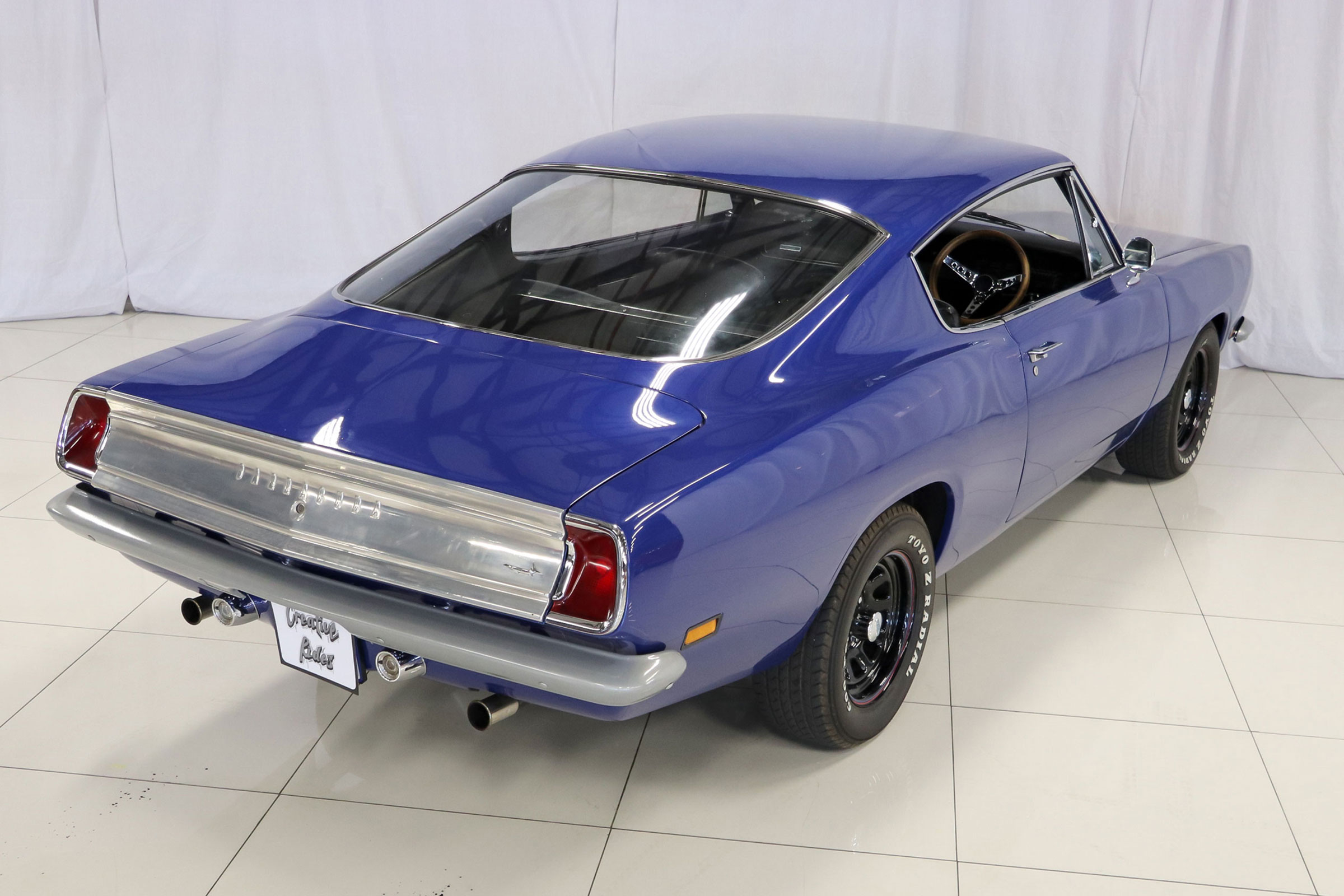 1969 valiant barracuda custom creative rides