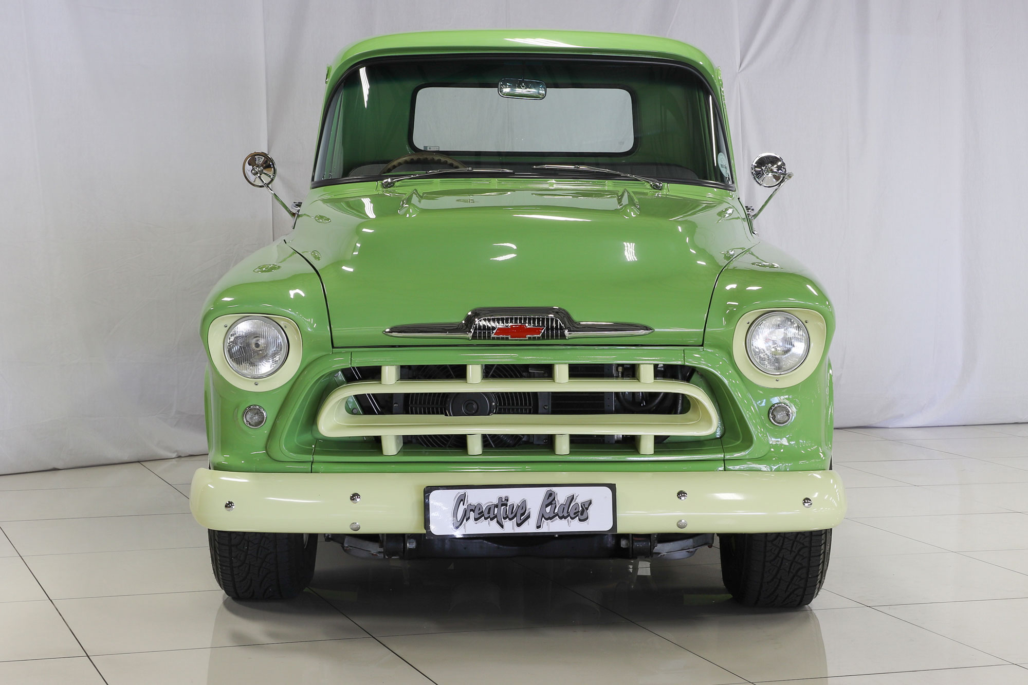 1957 Chevrolet 3100 Pickup Truck Creative Rides Chevy Sale Sold