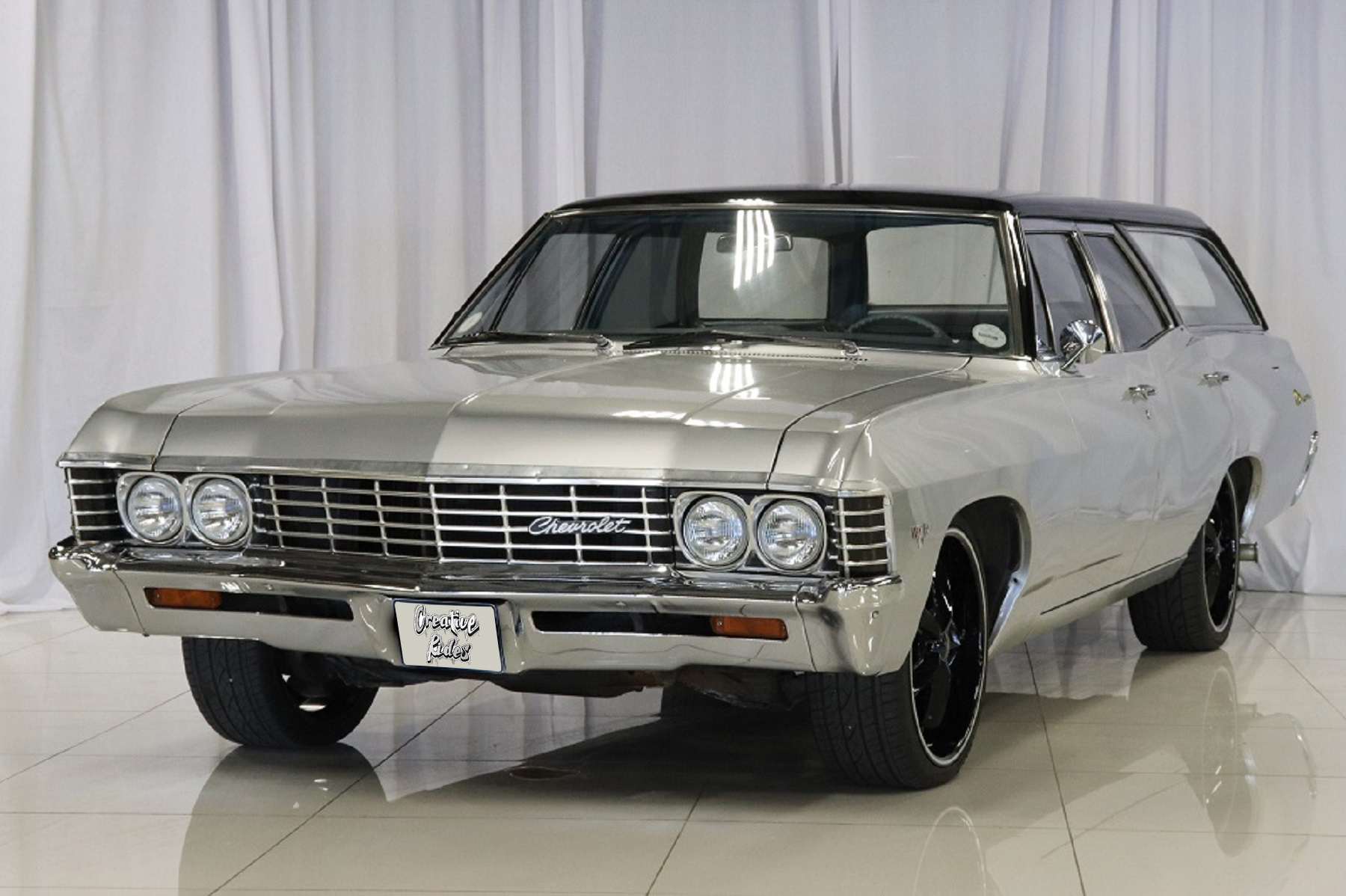 1968 Chevrolet Impala Station Wagon Creative Rides Custom Coupe