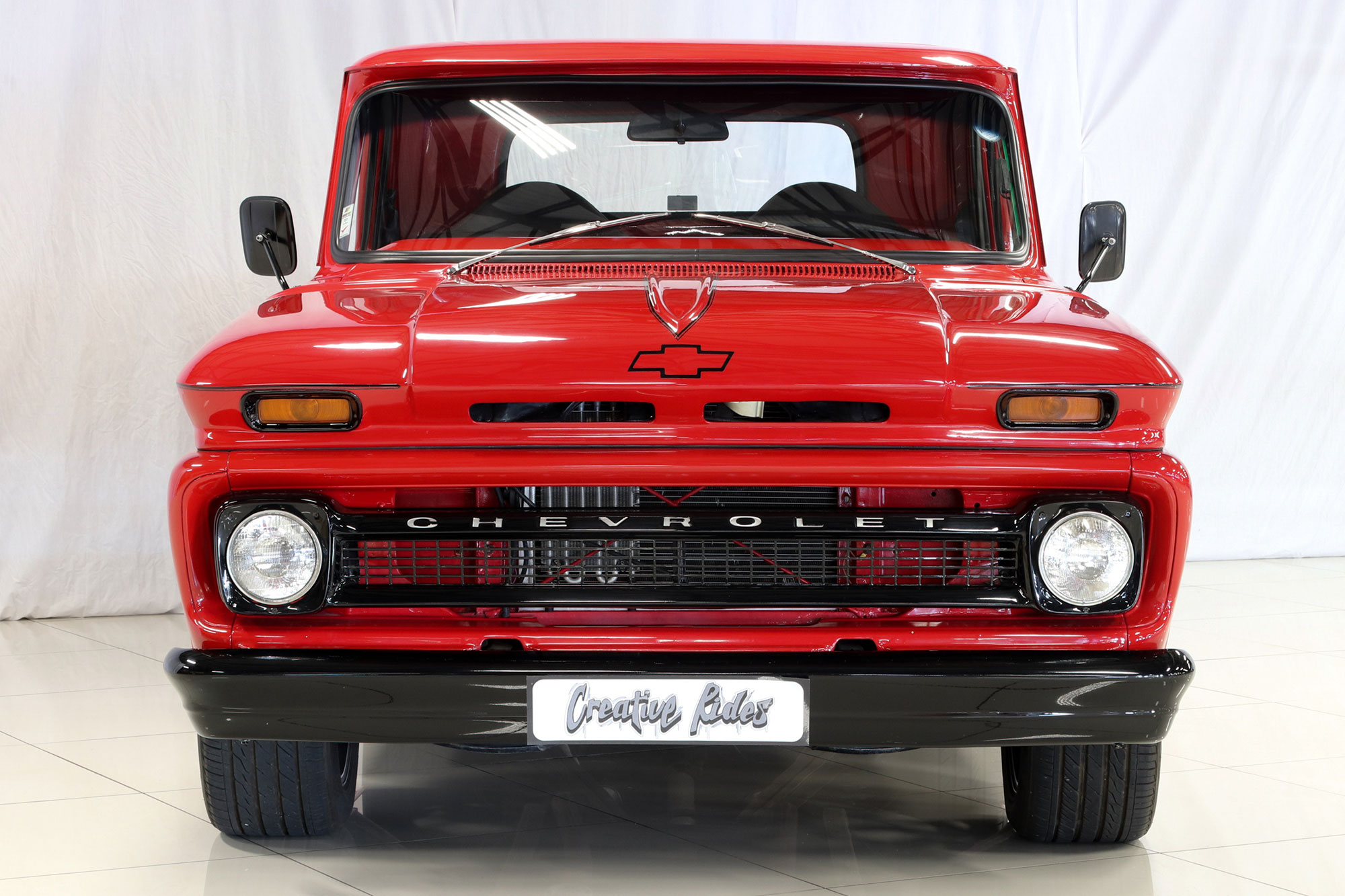1966 Chevrolet C10 Fleetside Custom Pickup Creative Rides Truck Sold Vehicle Overview With