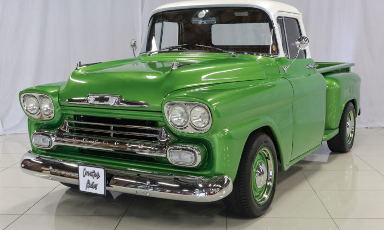 1958 Chevrolet Apache Pickup Truck Green Creative Rides