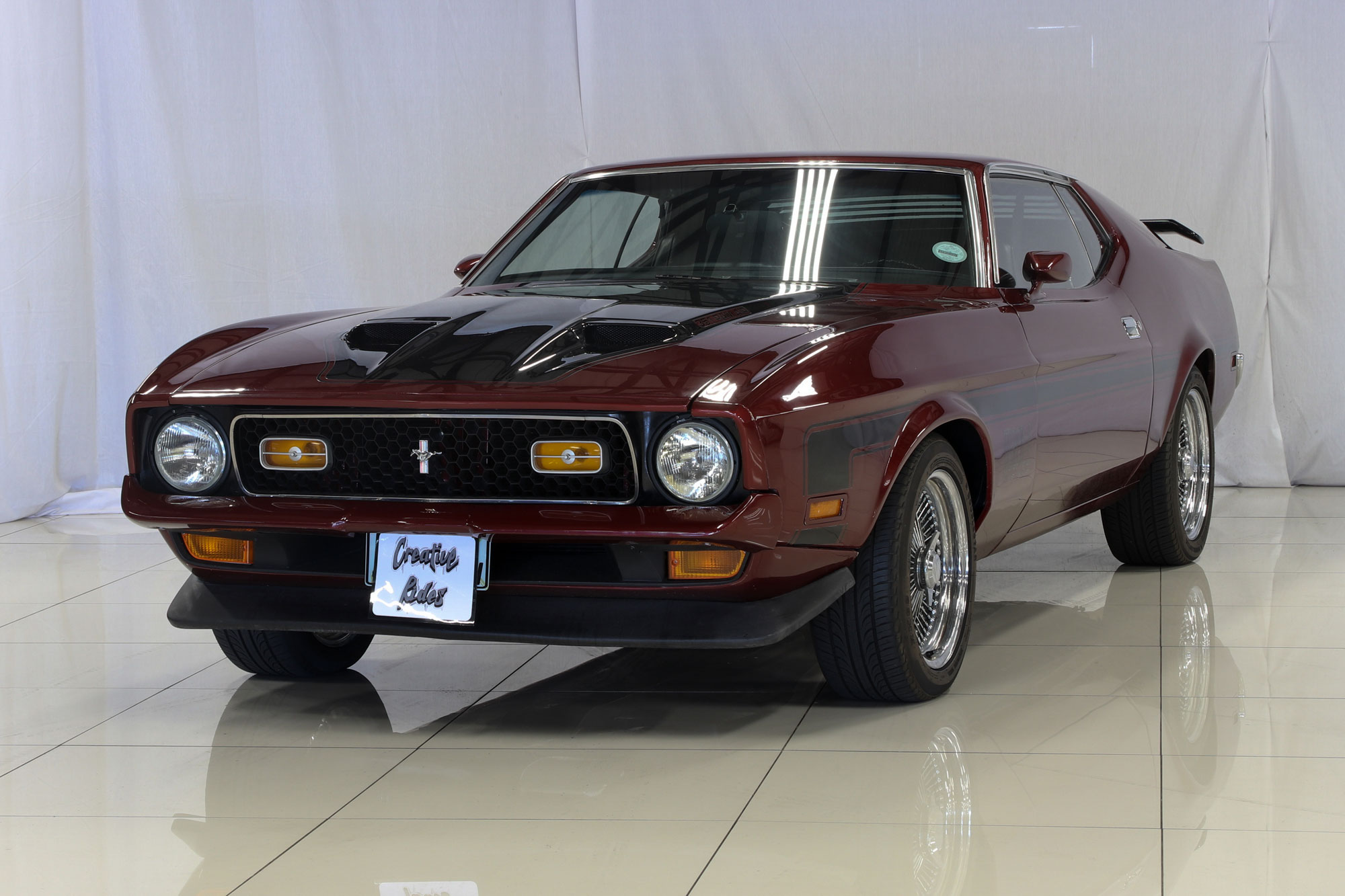 Niche Wheels Mustang >> 1971 Ford Mustang Mach 1 | Creative Rides